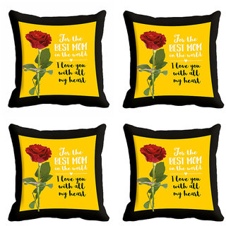 meSleep For The Best Mom Mothers Day Cushion Cover (16x16)