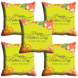 meSleep Happy Mothers Day Love Cushion Cover (16x16)