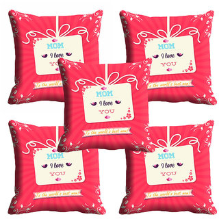 meSleep Love U Mothers Day Cushion Cover (16x16)