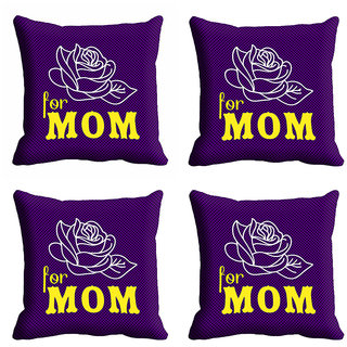 meSleep For Mom Mothers Day Cushion Cover (16x16)
