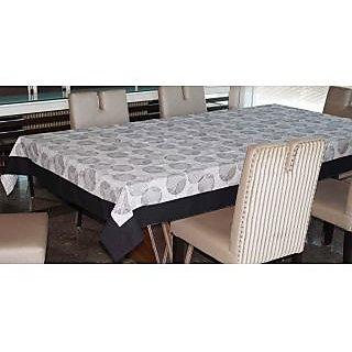 Lushomes 4 Seater Geometric Printed Table Cloth