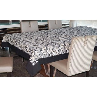 Lushomes 8 Seater Coins Printed Table Cloth