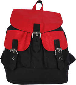 Vivinkaa Black Solid Backpack