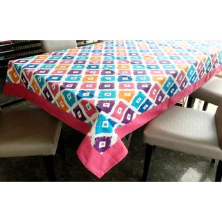 Lushomes 12 Seater Square Printed Table Cloth