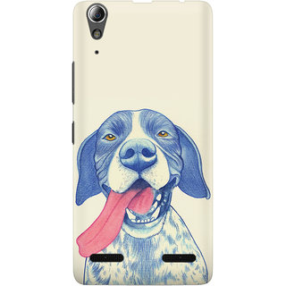 The Fappy Store A CARTOON DOG GRAPHIC  Lenovo A6000 Back Cover