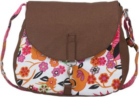 Vivinkaa Multicolor Printed Handbag