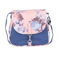 Vivinkaa Pink Printed Handbag
