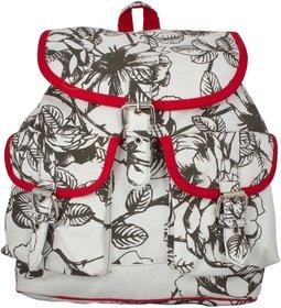 Vivinkaa Brown Printed Backpack