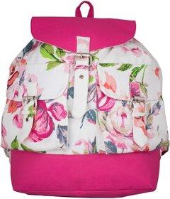 Vivinkaa Purple Printed Backpack