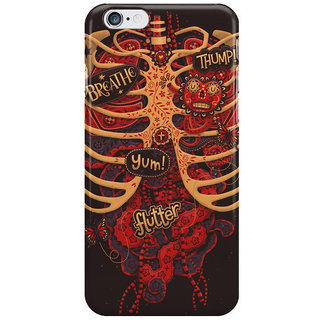 The Fappy Store Anatomical-Study-Of-Dead-Style Back Cover For Iphone 6S Plus