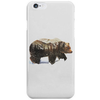 The Fappy Store Arctic-Bear Back Cover For Iphone 6S Plus