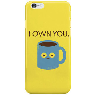 The Fappy Store Coffee-Talk Back Cover For Iphone 6S Plus
