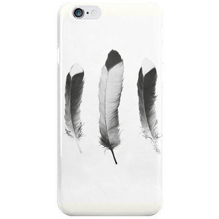 The Fappy Store Feathers-Sketch Back Cover For Iphone 6S Plus