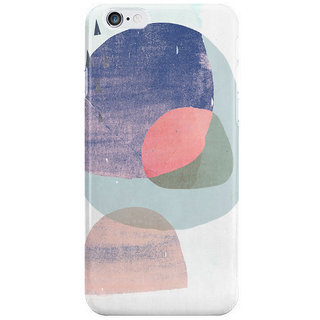 The Fappy Store Circles-And-Tri-Purple Back Cover For Iphone 6S Plus