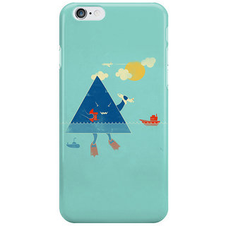 The Fappy Store Bermuda-Triangle Back Cover For Iphone 6S Plus