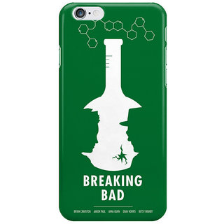 The Fappy Store Breaking-Bad Green Back Cover For Iphone 6S Plus