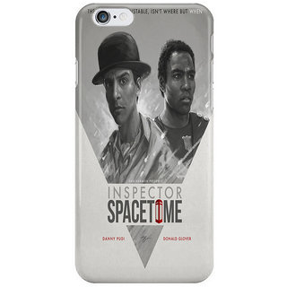 The Fappy Store Inspector-Spacetime Back Cover For Iphone 6S Plus
