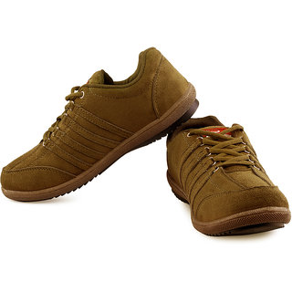0118e383d3b Buy Lancer Mens Tan Lace-up Sports Shoes Online - Get 9% Off