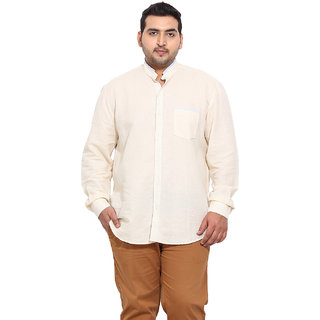 Beige Coloured Linen Shirts
