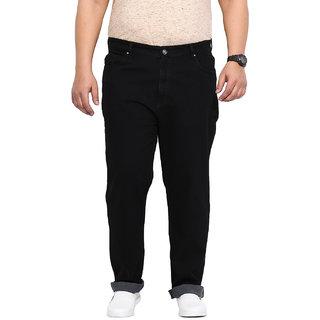 Black Coloured Cotton Stretch Denim Jeans