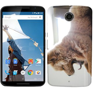 WOW Printed Back Cover Case for Google Nexus 6