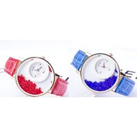 Women Party Wadding Red And Blue Combo Of Two Casual Analog Watche