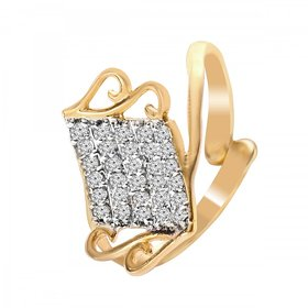 Ring For Woman And Girls Gold Colour