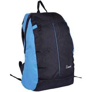 Polyester Blue Slim Laptop Backpack