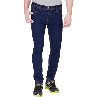 Navy Blue Stretchable Skinny fit jeans