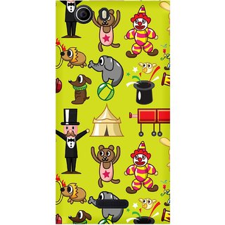 WOW Printed Back Cover Case for  Micromax Canvas Nitro 2 E311