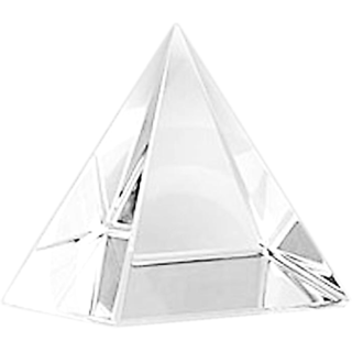 Aum Zone Crystal Pyramid (7.5 gms)