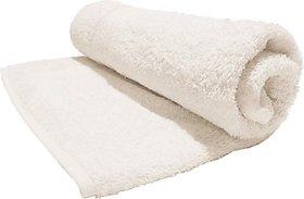 Mayuri Cotton Bath Towel(Bath Towel, White)