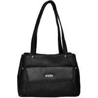 Fdfashion Brown PU Casual Plain Handbag