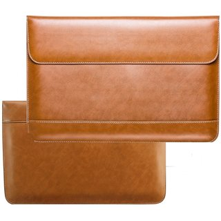 Heartly Preum Vintage Leather Ultra Thin Super Slim Sleeve Pouch Case Cover For  book Air Pro Retina 12 13.3 I