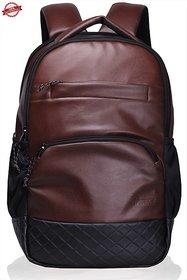 F Gear Luxur 25 litre Laptop Backpack(Brown) Bag
