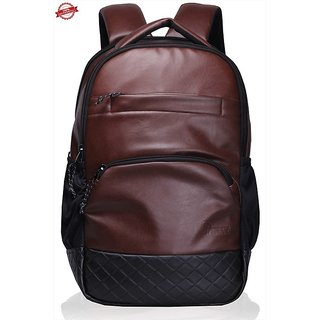 F Gear Luxur 25 litre Laptop Backpack Brown  Bag