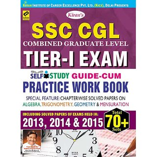 Ssc Cgl Tier-I Exam, Self-Study Guide Cum Practice Work BookEnglish(Paperback)