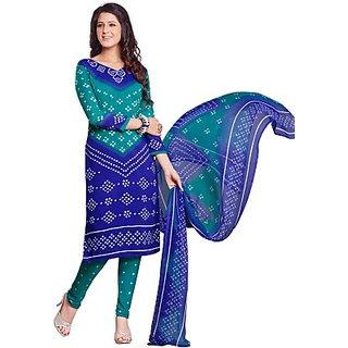 Salwar Studio Synthetic Self Design Salwar Suit Dupatta Material