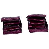 Kuber Industries Locker Jewellery Vanity Multi Purpose         (Purple) 37