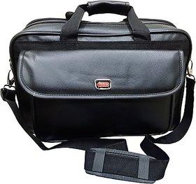 Pride 15.6 inch Expandable Laptop Messenger Bag         (Black)