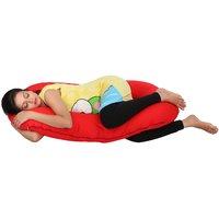 MomToBe C Shape Maternity/Pregnancy Pillow Red