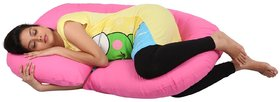 MomToBe C Shape Maternity/Pregnancy Pillow Pink