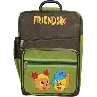 Raj  Boys  Girls Elegance School Bag,Green PSSB-238