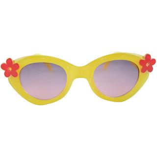 Polo House USA Kids Sunglasses ,Color-Yellow - Grey-FantB1004yellowgrey