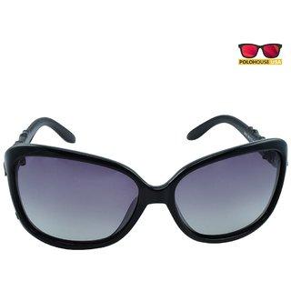 Polo House USA Womens Sunglasses,Color-Black-Beccipolo6842black