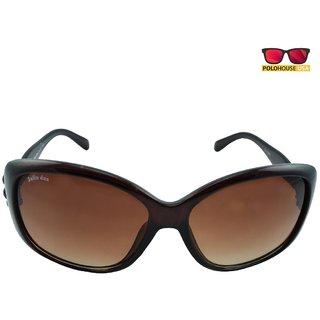 Polo House USA Womens Sunglasses,Color-Brown-JuliandasW5009brown