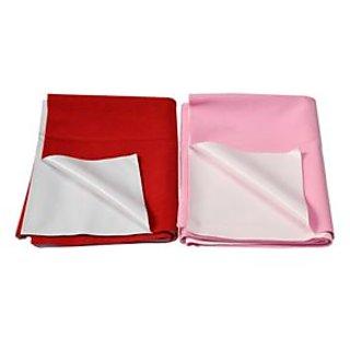 Chhote Janab Multi Color Large Eazi Dry Sheets (set of 2)