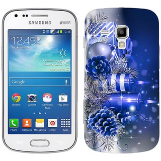 WOW Printed Back Cover Case for Samsung Galaxy S Duos 2 S7582