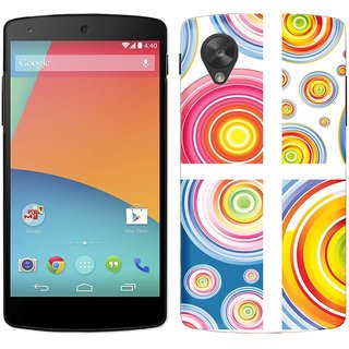 WOW Printed Back Cover Case for Google Nexus 5