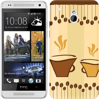 WOW Printed Back Cover Case for HTC One Mini